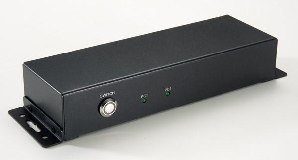 HDMI 2.0 2-port with USB 2.0/USB 3 Gen 1 4 port Sharing Switch (w/Hot Key)