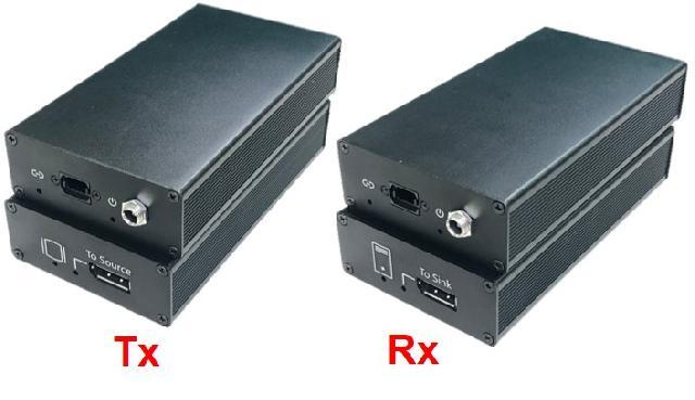 DisplayPort 8K/4K Multi-Mode Fiber Extender System (300 M)